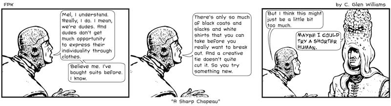 A Sharp Chapeau