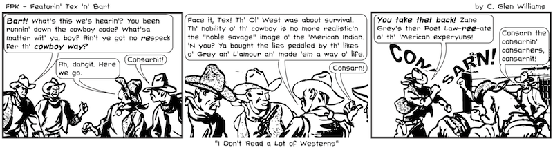 I Don't Read a Lot of Westerns